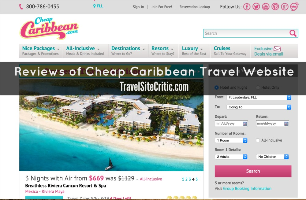 Reviews of CheapCaribbean.com