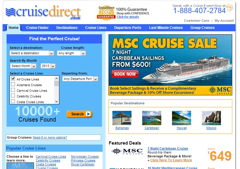 Cruise Direct Reviews