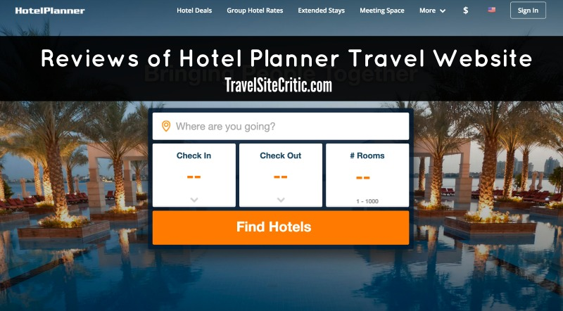 Reviews of HotelPlanner.com