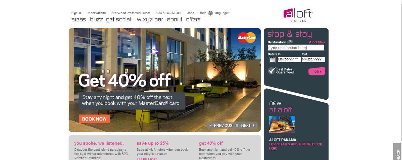 Aloft Hotels Reviews