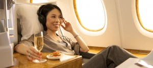 Emirates Business Class Flight