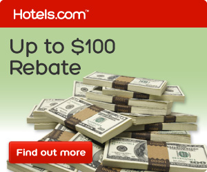 Print your Hotels.com Rebate Coupon and save up to $100 on any booking!