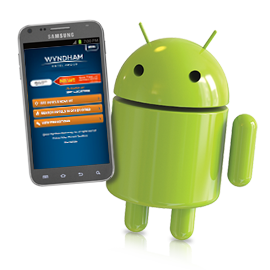 Get a FREE Android Smartphone when you book a Wyndham Hotel!