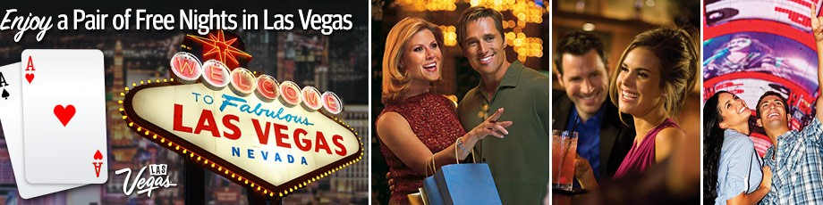 2 nights FREE in Las Vegas!